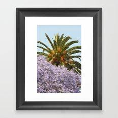 California Spring/Summer Day Framed Art Print