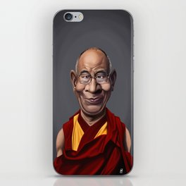Celebrity Sunday ~ Dalai Lama iPhone Skin