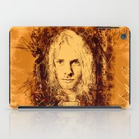 kurt cobain iPad Cases featuring 27 Club - Cobain by MUSENYO