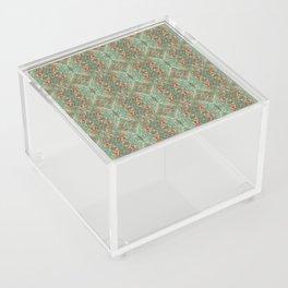 Holiday Greens & Ornaments Acrylic Box