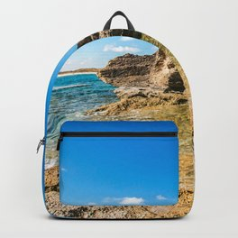 Grotto seascape Backpack