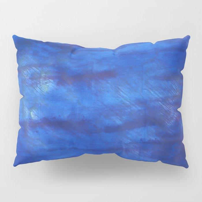 New car abstract watercolor Pillow Sham