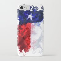 texas iPhone & iPod Cases featuring Texas by Lyndi May