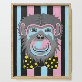 Chimp Off The Old Block Serving Tray