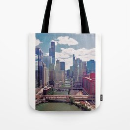 Chicago River View III Tote Bag