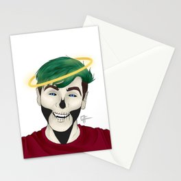 JACKSKELETON ANGEL Stationery Cards