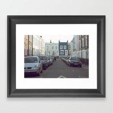London Streets Framed Art Print