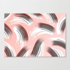 Pink Party Pattern Canvas Print