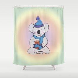 Teawasana Shower Curtain