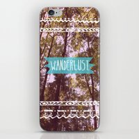 wanderlust iPhone & iPod Skins featuring Wanderlust by AA Morgenstern