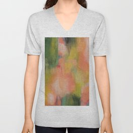 Homegrown Abstract Unisex V-Neck