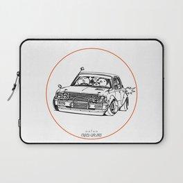 Crazy Car Art 0224 Laptop Sleeve
