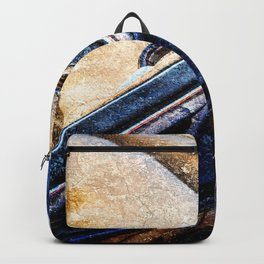 Vintage Car - Velvet Luxury Backpack