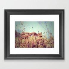 plants - Retro  Framed Art Print