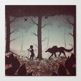Wolf Parade Canvas Print