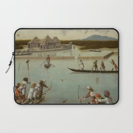 Vittore Carpaccio - Hunting on the Lagoon (recto); Letter Rack (verso) Laptop Sleeve