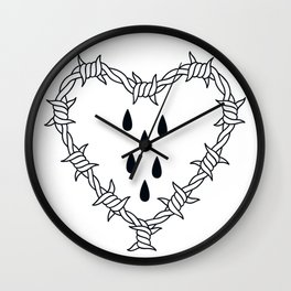 Love you (variation 03) Wall Clock