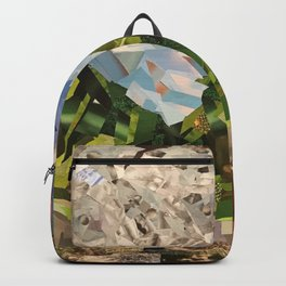 MOON WOOD COLLAGE Backpack
