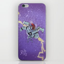 Astro Zodiac Force 10:  Rooster iPhone Skin