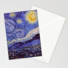 Vincent Van Gogh Starry Night Stationery Cards