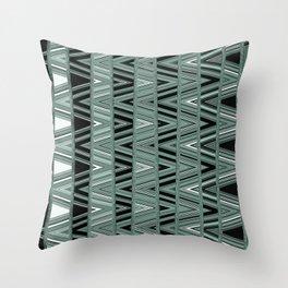 Static Noise Throw Pillow