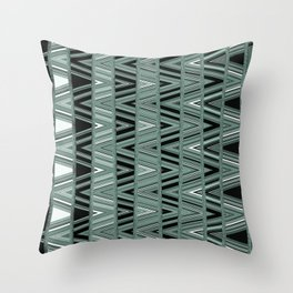Static Noise Throw Pillow