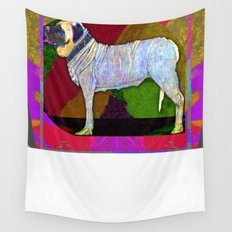 Mastifically Colorful Wall Tapestry