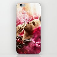 jesse pinkman iPhone & iPod Skins featuring Breaking Bad - Jesse Pinkman by p1xer