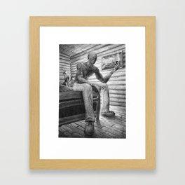 Bedfellow (Queequeg) Framed Art Print