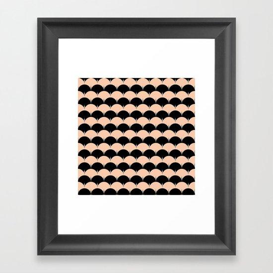 undulation Framed Art Print