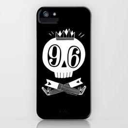 Skull 96 iPhone Case