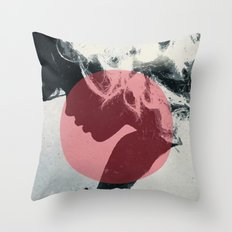 Shadow of Self Throw Pillow