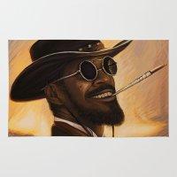 django Area & Throw Rugs featuring Django - Our newest troll by Daniel Inskeep