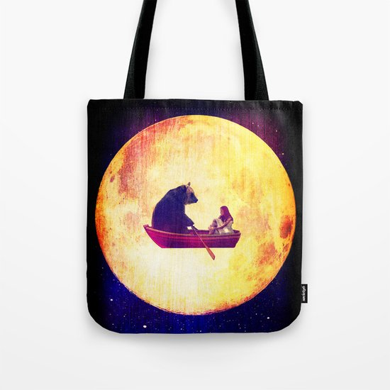 Moon Flight Tote Bag