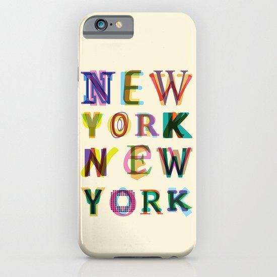 New York New York iPhone & iPod Case