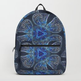 Shining Blue Butterflies Backpack