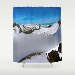 Above Juneau Shower Curtain