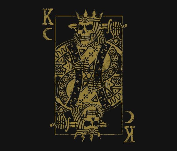 Suicide King Metal Travel Mug