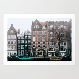 Centrum - Amsterdam, The Netherlands - #6 Art Print