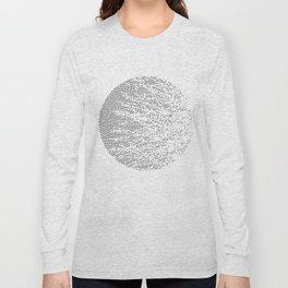 Planet Surface Circle Long Sleeve T-shirt