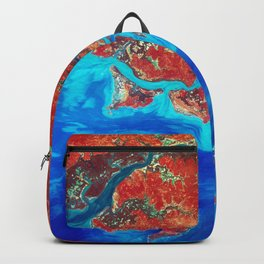 Guinea-Bissau a small country in West Africa Backpack