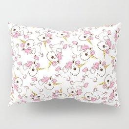 Simple magic unicorn icon Pillow Sham