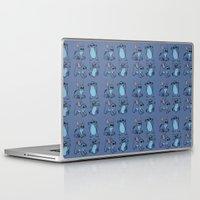 stitch Laptop & iPad Skins featuring Stitch  by Magen Works