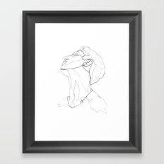 C L D 4 Framed Art Print