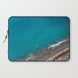 Positano Beach Umbrellas Laptop Sleeve
