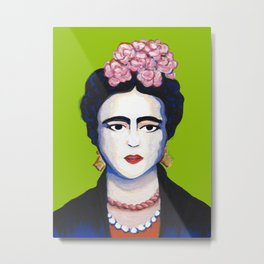 frida, with love Metal Print