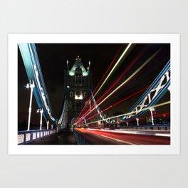 London by night... Art Print