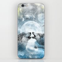 wolves iPhone & iPod Skins featuring Wolves by haroulita