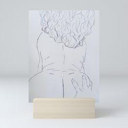 hand to ass Mini Art Print