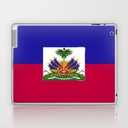Haiti flag emblem Laptop & iPad Skin